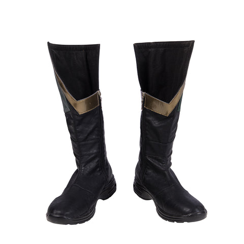 Robin Cosplay Shoes Titans Dick Grayson Boots Moive Level