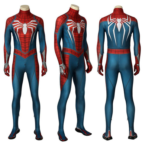 SPIDER-MAN PS4 Advanced Suit Spider-man PS4 Game Cosplay Costume