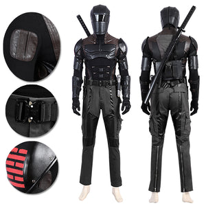 Snake Eyes Prestige Cosplay Costumes G.I Joe 3 Cosplay Suit