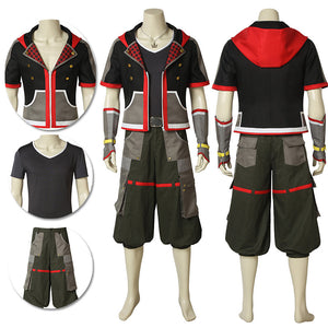 Sora Cosplay Costume Kingdom Hearts 3 Cosplay Game Suit