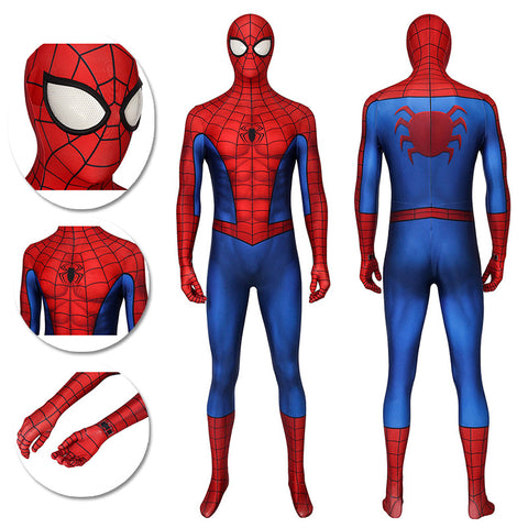 Spider-Man PS4 Game Cosplay Costumes 3D Classic Cosplay Suit