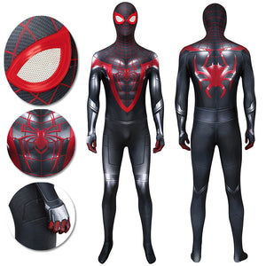 Spider-man 3D Printed Suit Miles Morales PS5 Bodysuit