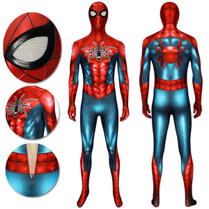 Spider-man HQ Printed Suit PS4 Armour MK IV Bodysuit