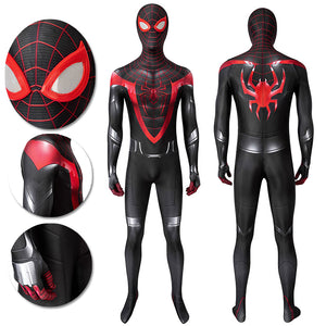 Spider-man Miles Morales PS5 Cosplay Costume Spandex