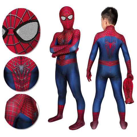 Spider-man Tobey Maguire Cosplay Suit For Kids