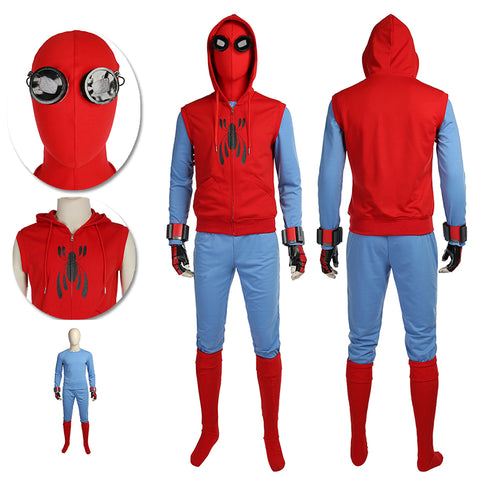 Spider-man Homemade Suits Classic Homecoming Spider-man Cosplay Costume