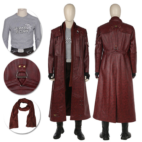 Star Lord Cosplay Costumes Guardians Of The Galaxy Movie Level Suits