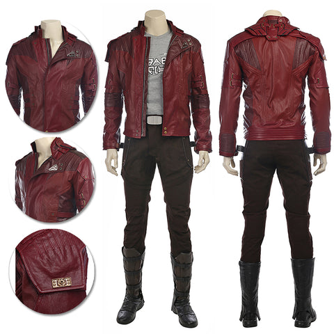Star Lord Cosplay Costumes Movie Level Cosplay Suits