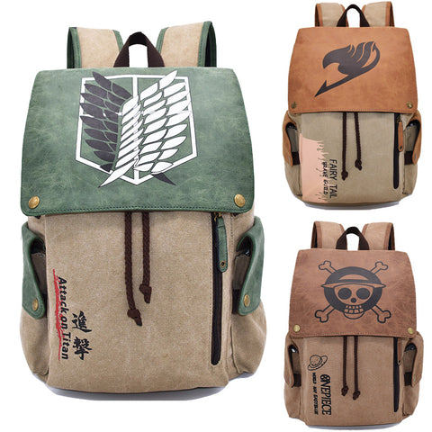 Straw Hat Pirates Backpack Animation Creative Design Bag