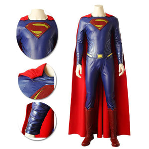 Superman Blue Cosplay Costumes Classic Justice League Cosplay Suits