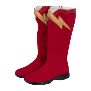 The Flash Cosplay Shoes Barry Allen Season 6 Movie Level Boots