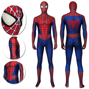 Tobey Maguire Spider-man Suit High Quality 3D Printed Cosplay Costumes