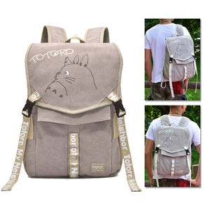 Totoro Backpack Totoro Printed Animation Creative Bag