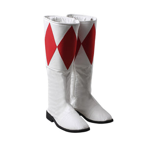 Tyrannosaurus Red Ranger Cosplay Shoes Mighty Morphin Power Rangers Boots
