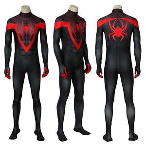 Ultimate Spider-Man Cosplay Costume Miles Morales 3D Printed Jumpsuits