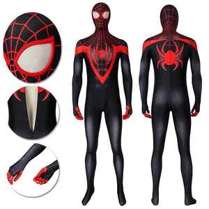 Ultimate Spider-Man Cosplay Costumes Miles Morales Cosplay Suit