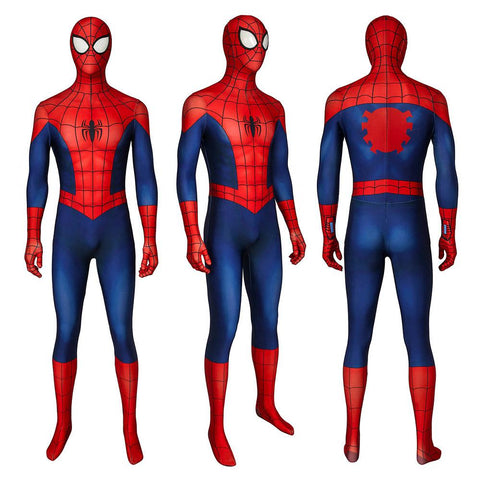 Ultimate Spider-Man Cosplay Suit The Season 1 Peter Parker Costume