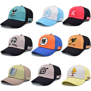 Unisex Animation Element Printed Baseball Cap