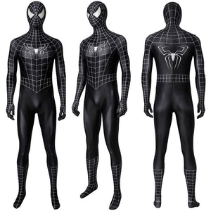 Venom Eddie Brock Cosplay Costume Black Spider-man Suit