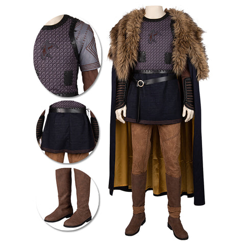 Vikings Cosplay Costumes Ragnar Lodbrok Movie Level Cosplay Suit