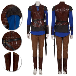 Vikings Shield-Maiden Lagertha Cosplay Costumes