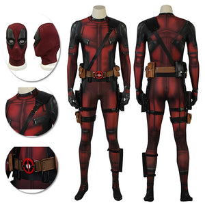 Wade Wilson Cosplay Costume Deadpool 2 Suit