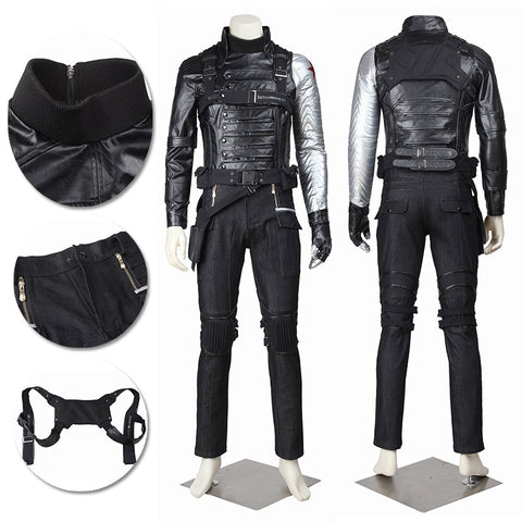 Winter Soldier Cosplay Costumes Captain America 2 Cosplay Suit