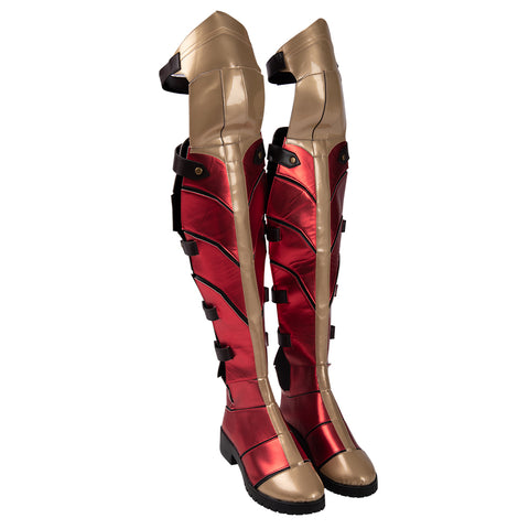 Wonder Woman Cosplay Boots WW1984 Diana Prince Movie Level Shoes