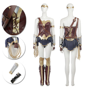 Wonder Woman Cosplay Costumes Movie Level Diana Prince Suits
