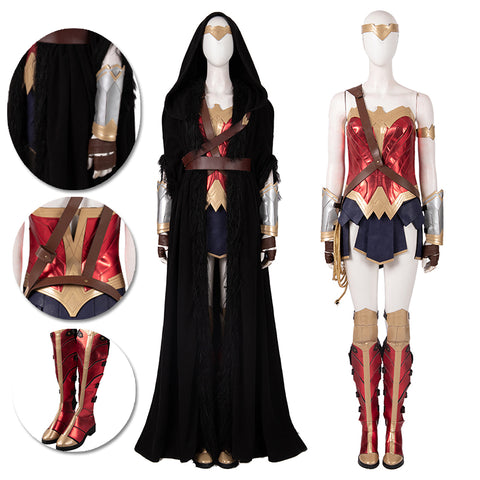 Wonder Woman Cosplay Costumes WW1984 Diana Prince Movie Level Suit