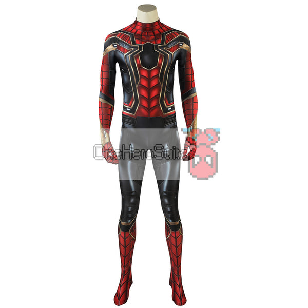 Iron Spider-Man Cosplay Suit Spiderman Iron Costume 3D Printed