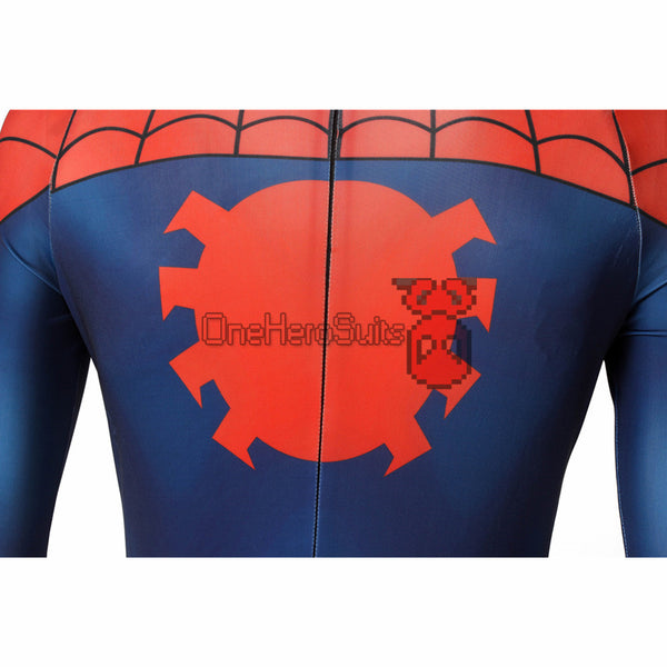 Ultimate Spider Bodysuit Spider-man Red Classic Suit