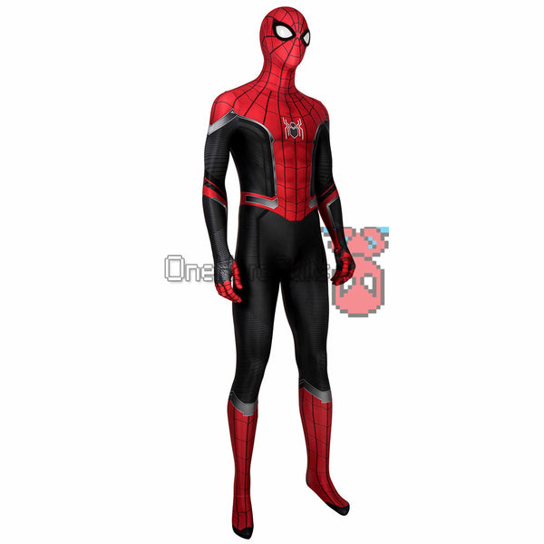 Spider-man Black and Red Suits Far From Home Spider Bodysuit