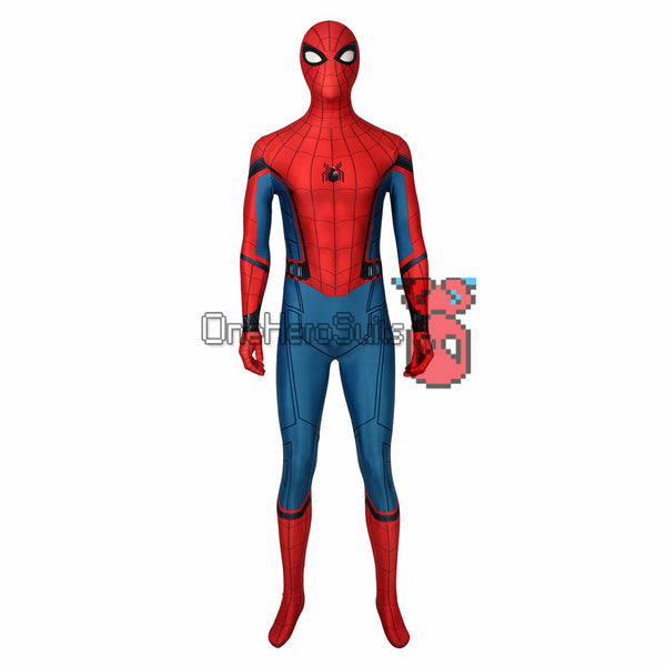 Spider-man Classic Suit Far From Home Spider Bodysuit