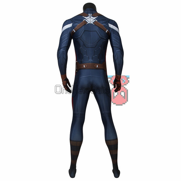 Captain America Suit The Winter Soldier Steve Rogers Bodysuit