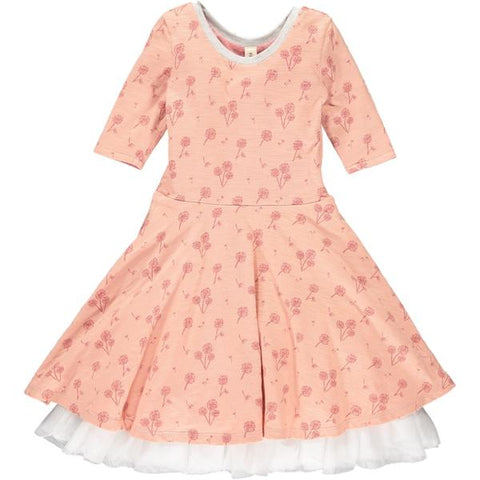 Annie Dress Rose Dandelion