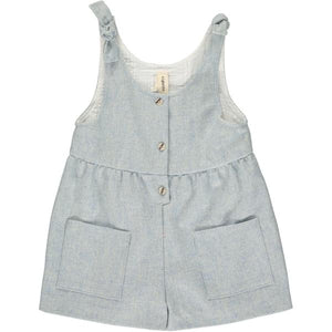 ashley romper in mist