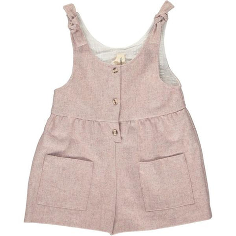 ashley romper in rose