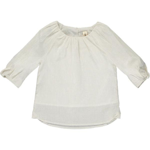 tati blouse in ivory