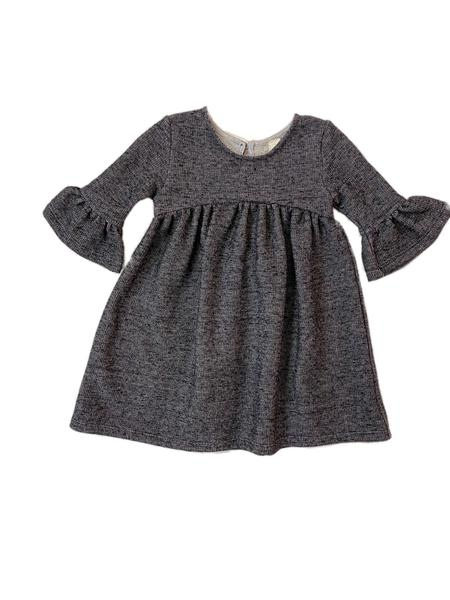 paige dress in charcoal