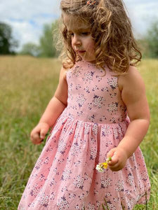 jewel dress pink floral