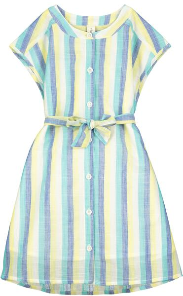 tilly dress blue stripe