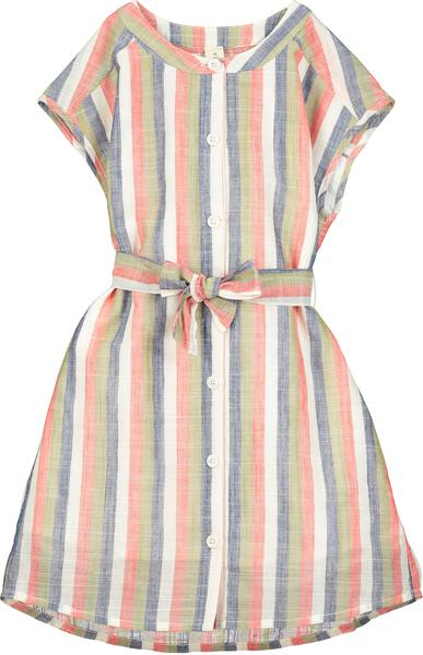 tilly dress red stripe