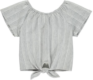 esme top in grey