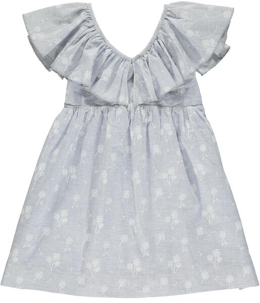 sparrow dress blue dandelion