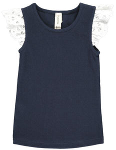 annabel tank in navy