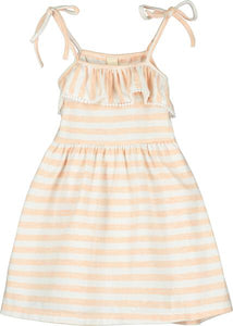 bryony dress in creamsicle