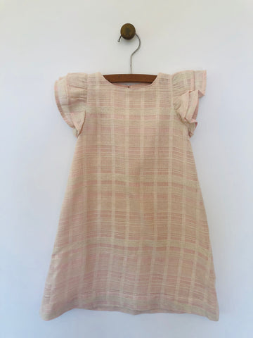 julia dress in blush