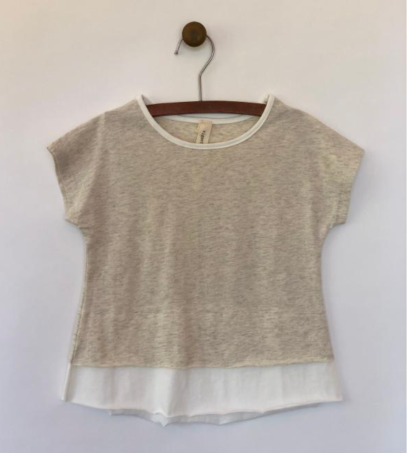 jade t-shirt in ivory