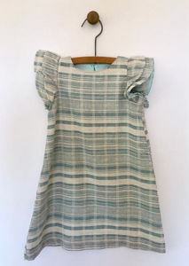 julia dress in chambray
